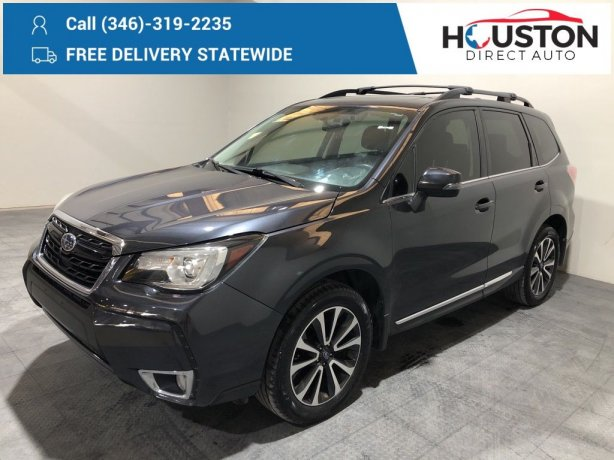 Used 2017 Subaru Forester for sale in Houston TX.  We Finance!