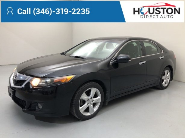 Used 2010 Acura TSX for sale in Houston TX.  We Finance!