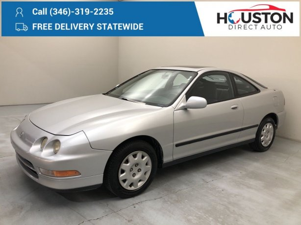 Used 1995 Acura Integra for sale in Houston TX.  We Finance!