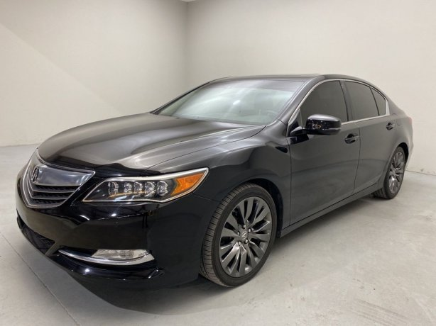 Used 2016 Acura RLX for sale in Houston TX.  We Finance!