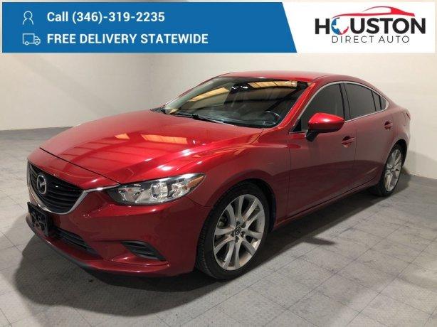 Used 2014 Mazda Mazda6 for sale in Houston TX.  We Finance!