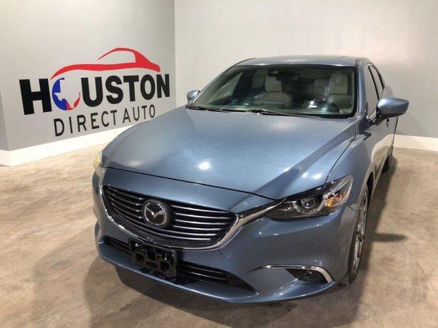 Used 2017 Mazda Mazda6 for sale in Houston TX.  We Finance!