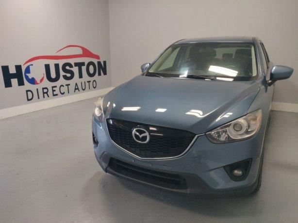 Used 2014 Mazda CX-5 for sale in Houston TX.  We Finance!