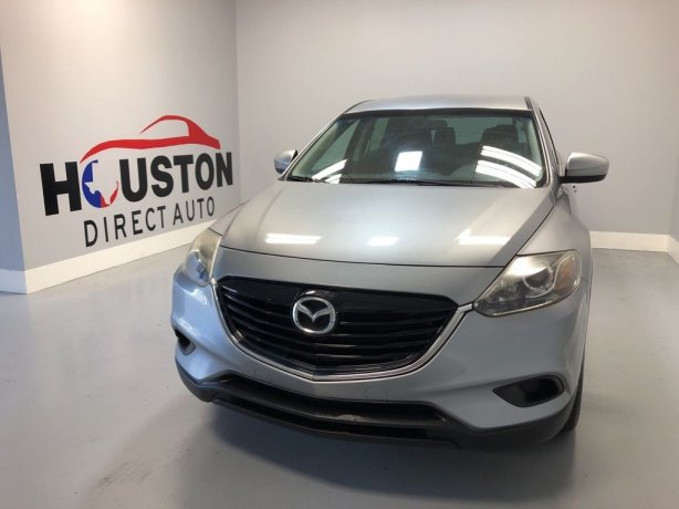Used 2015 Mazda CX-9 for sale in Houston TX.  We Finance!