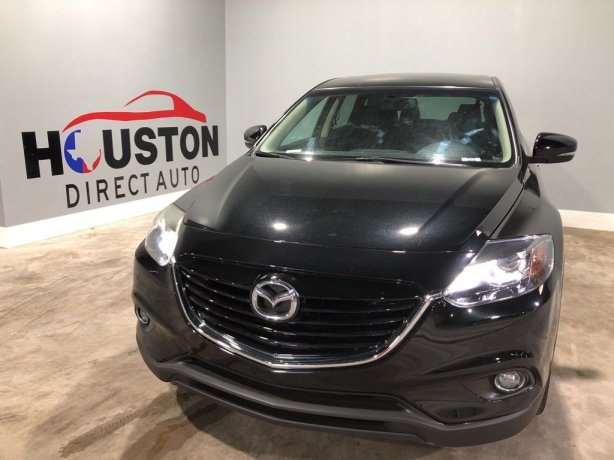 Used 2014 Mazda CX-9 for sale in Houston TX.  We Finance!
