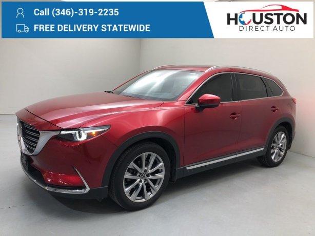 Used 2018 Mazda CX-9 for sale in Houston TX.  We Finance!