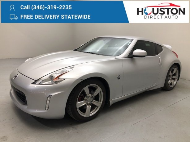 Used 2009 Nissan 370Z for sale in Houston TX.  We Finance!