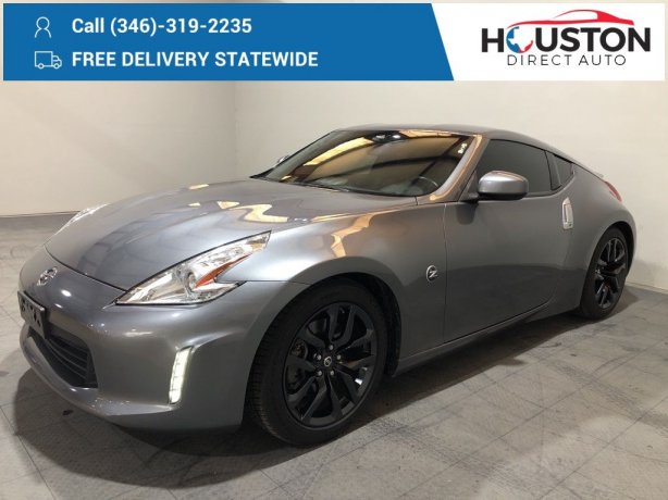 Used 2016 Nissan 370Z for sale in Houston TX.  We Finance!