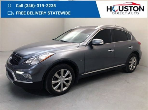 Used 2017 INFINITI QX50 for sale in Houston TX.  We Finance!