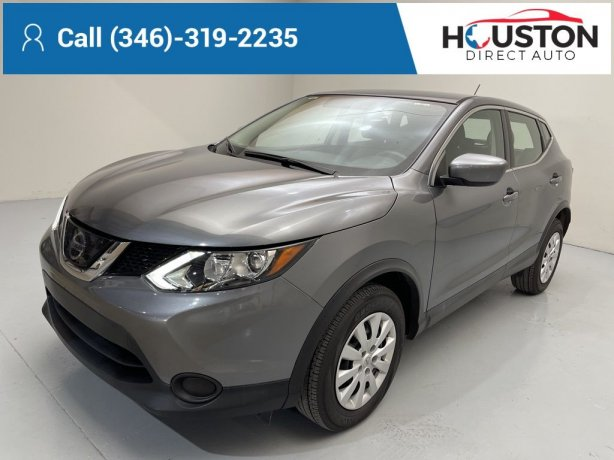 Used 2019 Nissan Rogue Sport for sale in Houston TX.  We Finance!