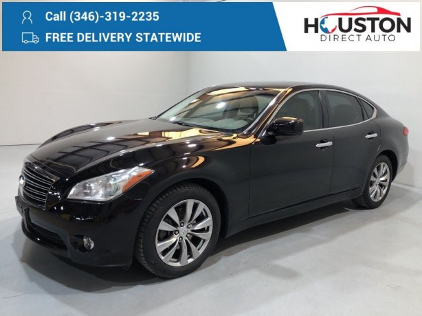 Used 2013 INFINITI M37 for sale in Houston TX.  We Finance!