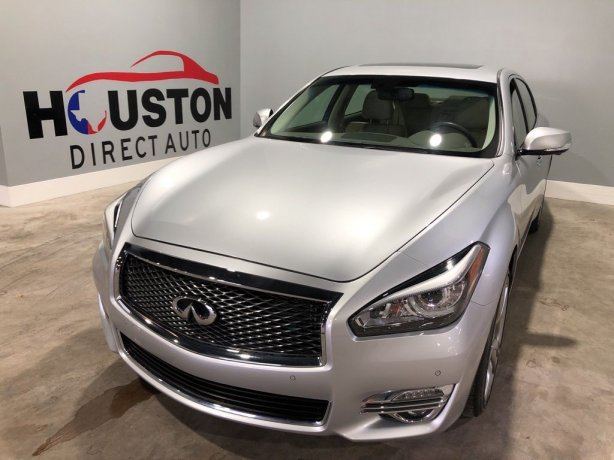 Used 2016 INFINITI Q70L for sale in Houston TX.  We Finance!