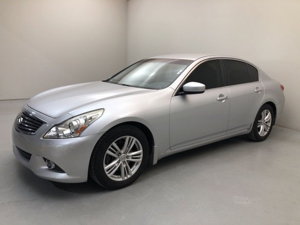 Used 2015 INFINITI Q40 for sale in Houston TX.  We Finance!