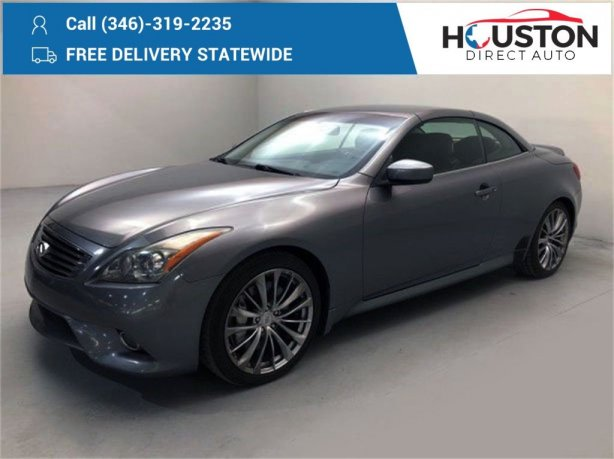 Used 2013 INFINITI G37 for sale in Houston TX.  We Finance!