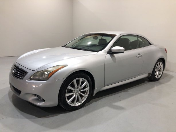 Used 2011 INFINITI G37 for sale in Houston TX.  We Finance!