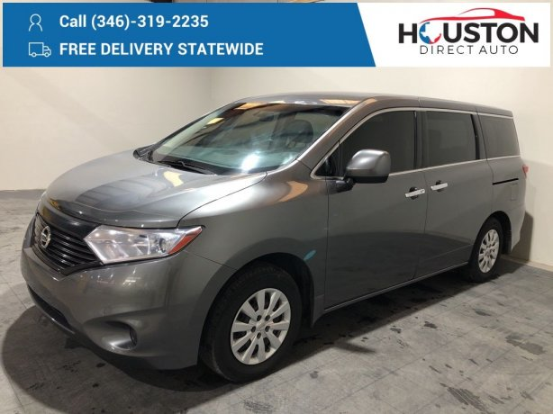 Used 2015 Nissan Quest for sale in Houston TX.  We Finance!