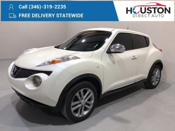 Used 2011 Nissan Juke for sale in Houston TX.  We Finance!