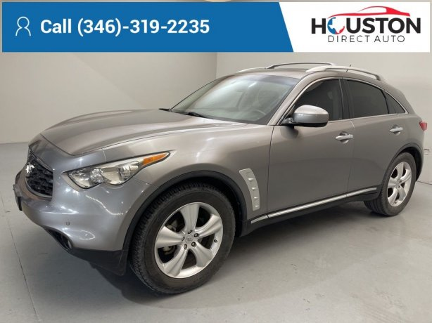 Used 2010 INFINITI FX35 for sale in Houston TX.  We Finance!