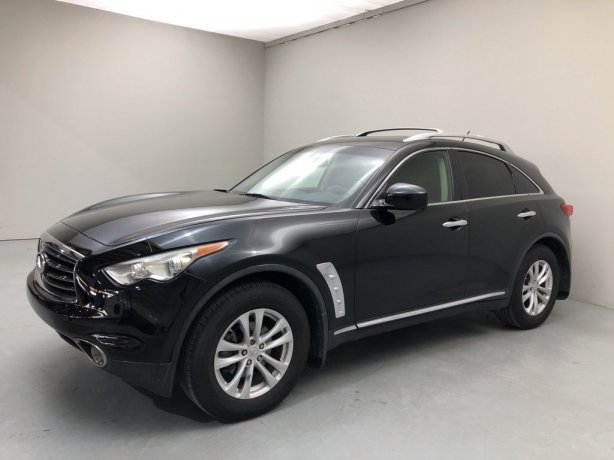Used 2012 INFINITI FX35 for sale in Houston TX.  We Finance!