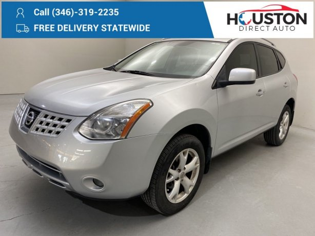 Used 2010 Nissan Rogue for sale in Houston TX.  We Finance!