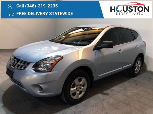 Used 2015 Nissan Rogue Select for sale in Houston TX.  We Finance!