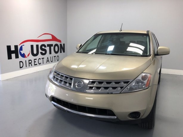 Used 2006 Nissan Murano for sale in Houston TX.  We Finance!