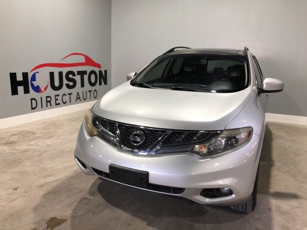 Used 2011 Nissan Murano for sale in Houston TX.  We Finance!