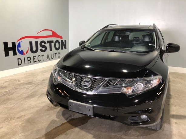 Used 2014 Nissan Murano for sale in Houston TX.  We Finance!