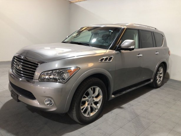 Used 2012 INFINITI QX56 for sale in Houston TX.  We Finance!