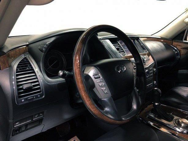 used 2017 INFINITI QX80 for sale Houston TX