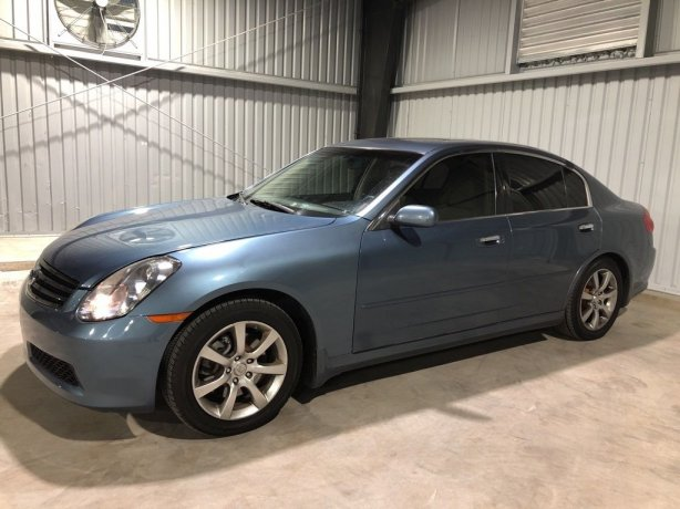 Used INFINITI G35 for sale in Houston TX.  We Finance!