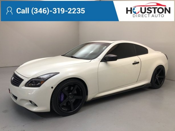 Used 2008 INFINITI G37 for sale in Houston TX.  We Finance!