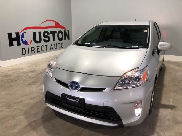 Used 2015 Toyota Prius for sale in Houston TX.  We Finance!