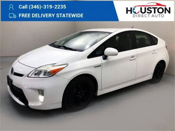 Used 2014 Toyota Prius for sale in Houston TX.  We Finance!
