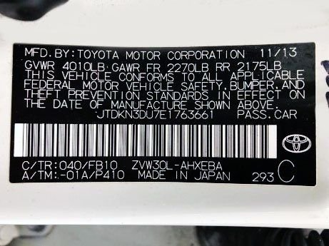 Toyota 2014 for sale near me