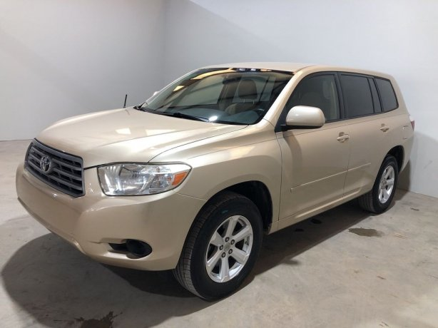 Used 2010 Toyota Highlander for sale in Houston TX.  We Finance!