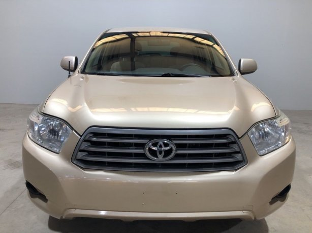 Used Toyota Highlander for sale in Houston TX.  We Finance!