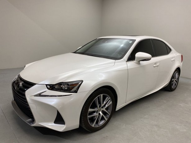 Used 2019 Lexus IS for sale in Houston TX.  We Finance!