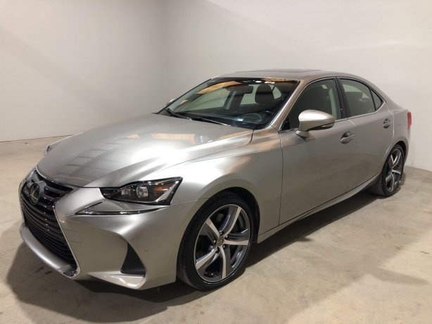 Used 2017 Lexus IS for sale in Houston TX.  We Finance!