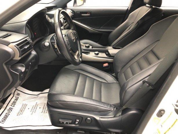 used 2018 Lexus IS for sale Houston TX