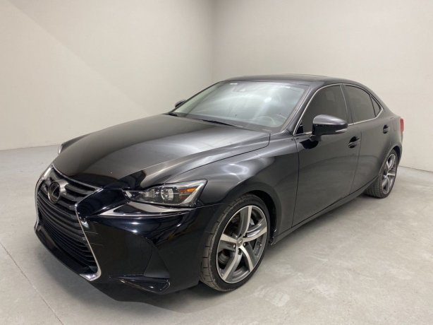 Used 2018 Lexus IS for sale in Houston TX.  We Finance!