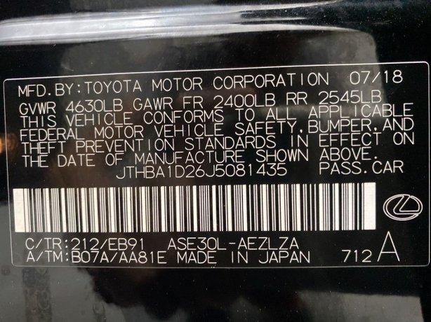 Lexus IS 2018 for sale