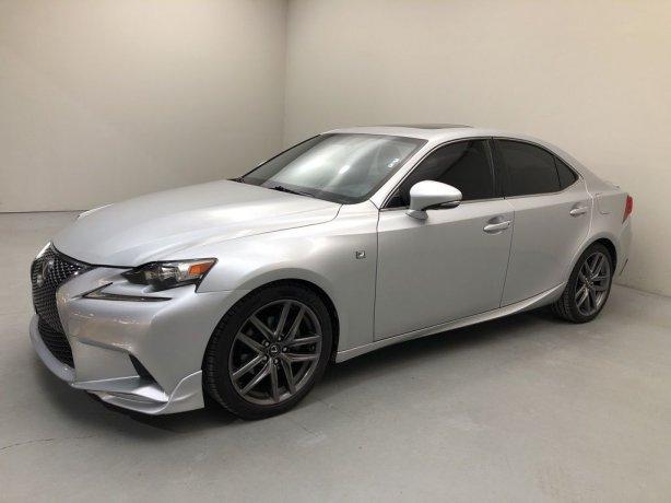 Used 2015 Lexus IS for sale in Houston TX.  We Finance!