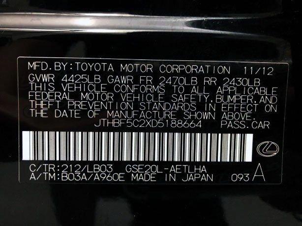 Lexus IS cheap for sale