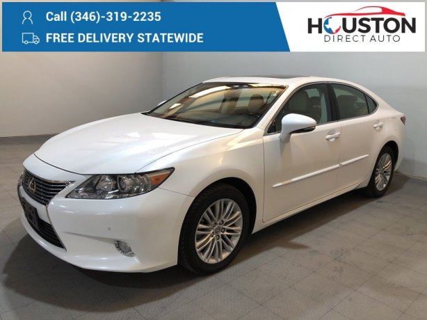 Used 2013 Lexus ES for sale in Houston TX.  We Finance!