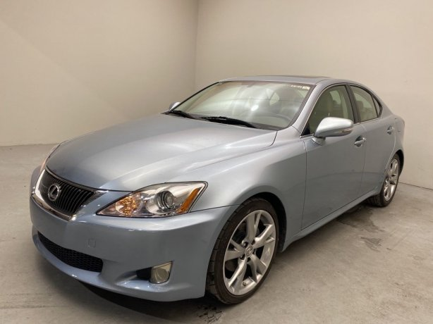 Used 2009 Lexus IS for sale in Houston TX.  We Finance!