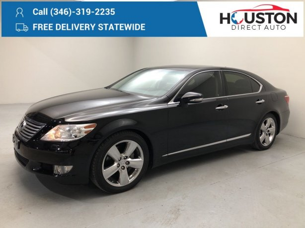 Used 2012 Lexus LS for sale in Houston TX.  We Finance!