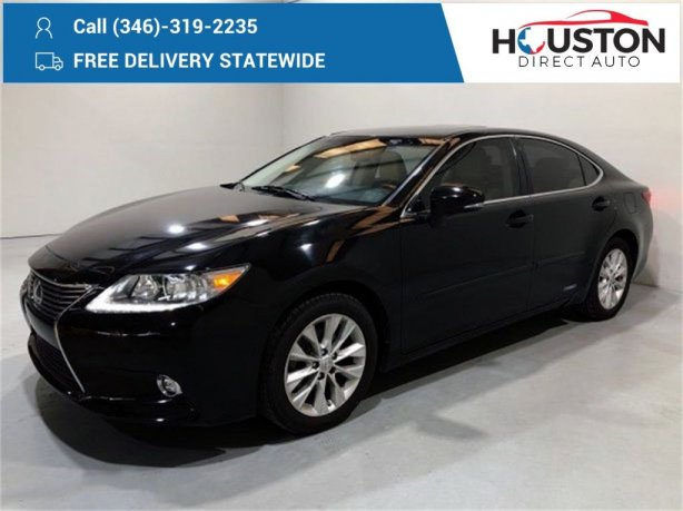 Used 2015 Lexus ES for sale in Houston TX.  We Finance!