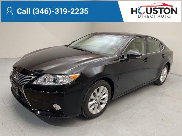 Used 2013 Lexus ES for sale in Houston TX.  We Finance!
