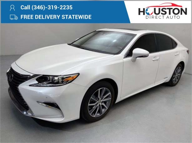 Used 2016 Lexus ES for sale in Houston TX.  We Finance!
